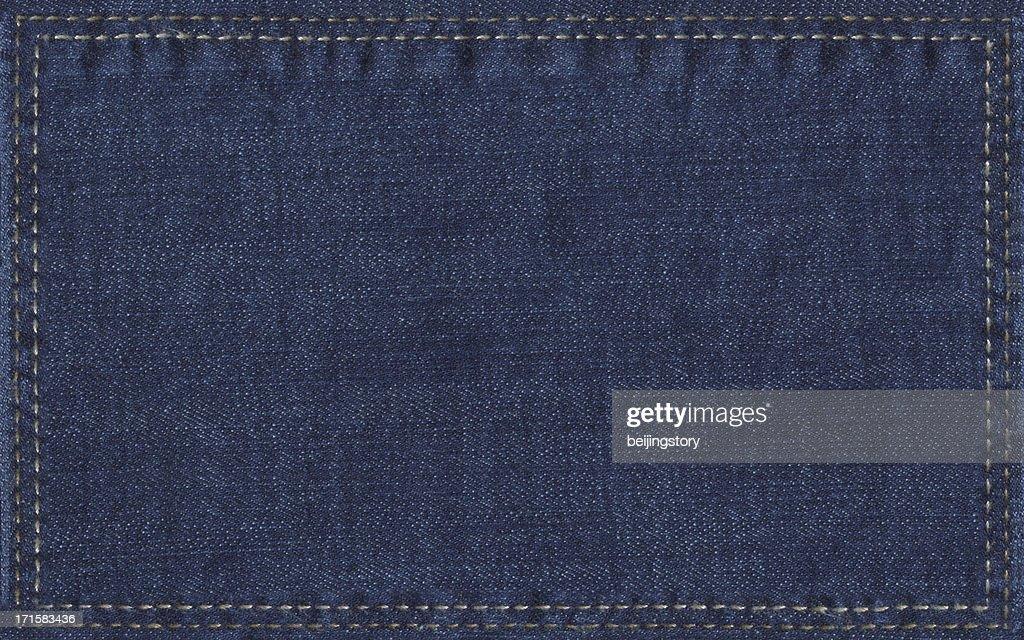 denim label : Stock Photo