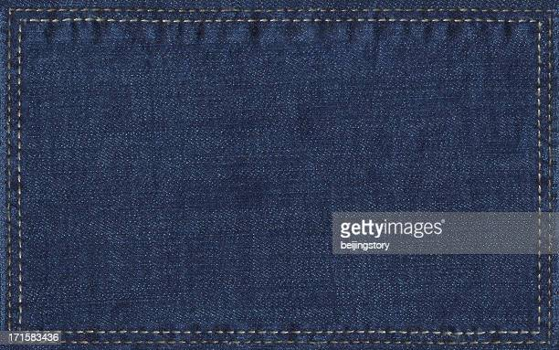 denim label