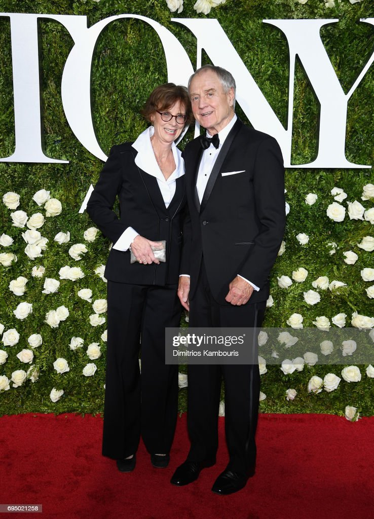 Denis Arndt (R) attends the 2017 Tony Awards at Radio City Music Hall on June 11, 2017 in New York City.