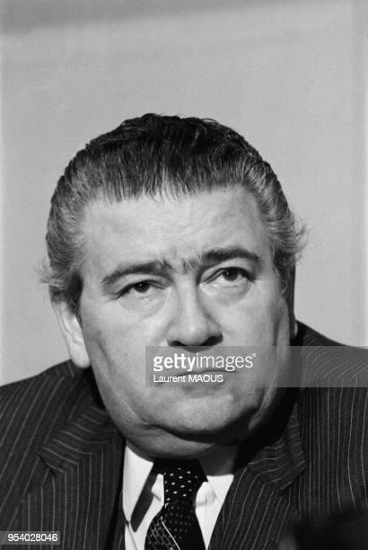 Denis Beaudouin homme politique le 7 décembre 1981 à Paris France