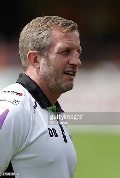 Denis Betts Head Coach of Widnes Vikings during the First Utility Super League match between Castleford Tigers and Widnes Vikings at The Jungle on...
