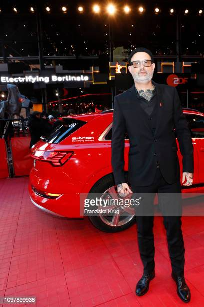 Denis Cote arrives in Audi etron car for the Ghost Town Anthology premiere during the 69th Berlinale International Film Festival Berlin at Berlinale...