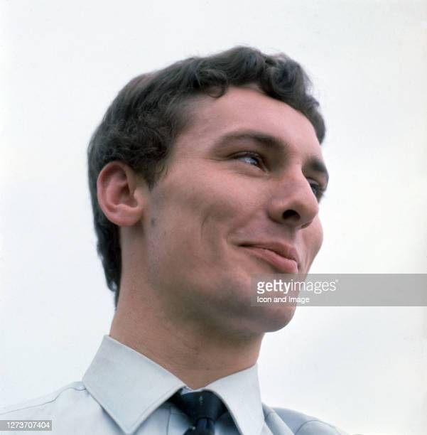 Denis D'Ell lead singer for the English beat group the Honeycombs in London England 1964