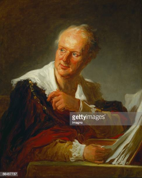 Denis Diderot French writer editor of the first encyclopedia Oil on canvas 815 x 65 cm RF 197214 [Denis Diderot Gemaelde]