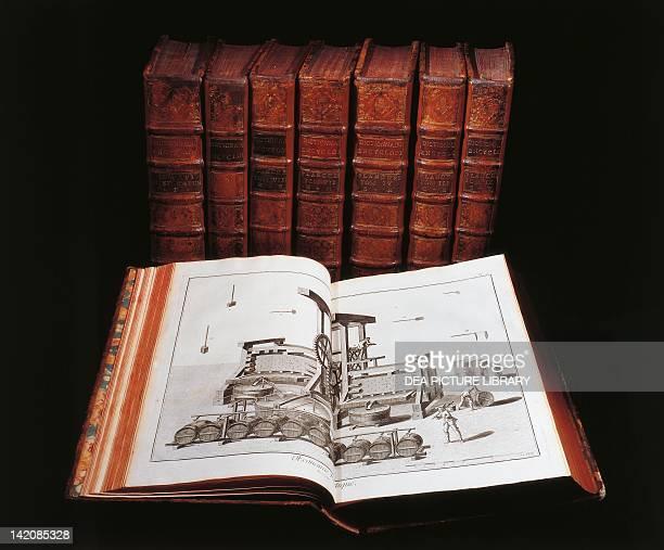 Denis Diderot Jean Baptiste Le Rond d'Alembert L'Encyclopedie 17511757