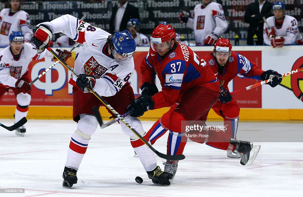 Russia v Czech Republic - 2010 IIHF World Championship