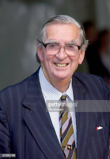 Denis Healey At A Celebrity Party Hosted By Broadcaster Sir David Frost In Chelsea