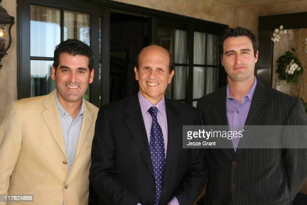 Denis Jubinville Michael Milken and Paul Vitagliano