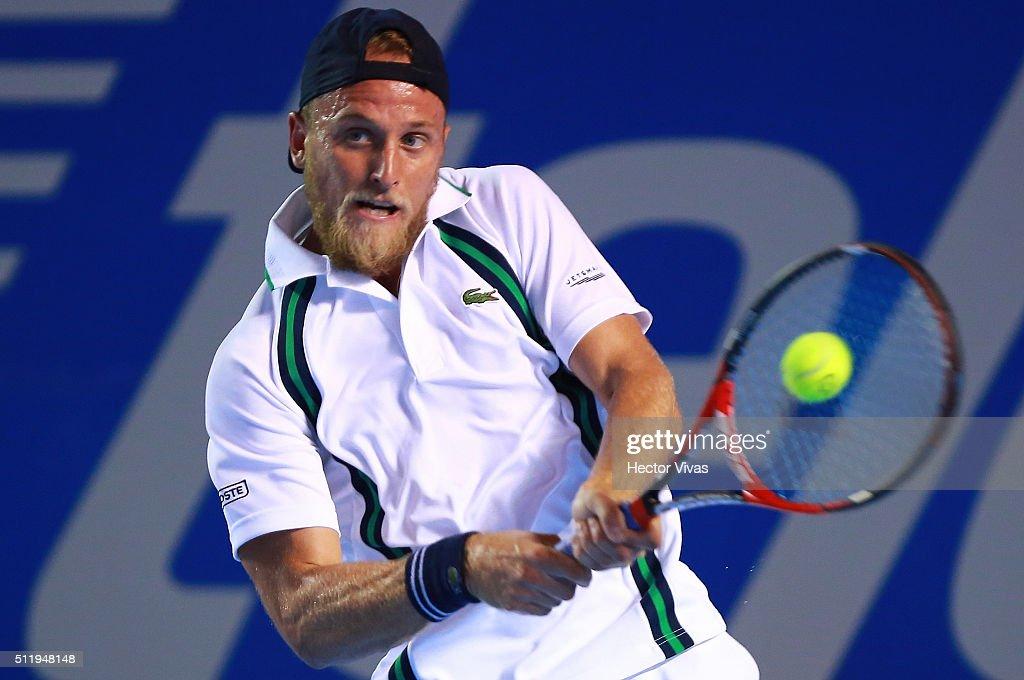 Telcel ATP Mexican Open 2016 - Dimitrov v Kudla : News Photo