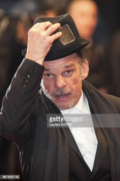 Denis Lavant attends the 'Michael Kohlhaas' premiere during The 66th Annual Cannes Film Festival at the Palais des Festival on May 24 2013 in Cannes...