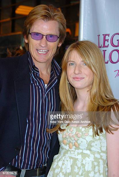 Denis Leary and daughter Devin arrive at the Palace Theatre for the opening night performance of the Broadway musical Legally Blonde