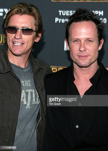 Denis Leary and Dean Winters during Rescue Me Season Three New York Premiere Screening at Ziegfeld in New York City New York United States