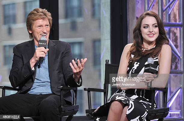 Denis Leary and Elizabeth Gillies attend AOL BUILD Speaker Series to discuss their new show SexDrugsRockRoll at AOL Studios in New York on July 15...