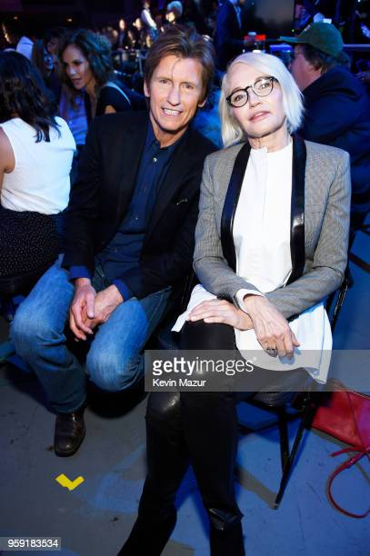 Denis Leary and Ellen Barkin attend the Turner Upfront 2018 show at The Theater at Madison Square Garden on May 16 2018 in New York City 376220