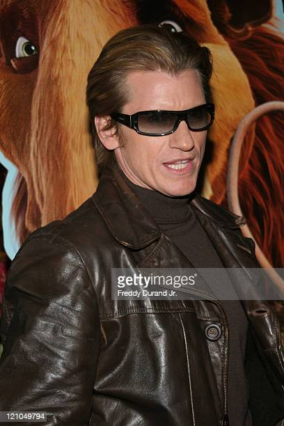 """Denis Leary during """"Ice Age 2: The Meltdown"""" New York screening - Inside Arrivals at Ziegfeld Theater in New York, NY, United States."""