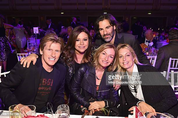 "Denis Leary Rachael Ray John M Cusimano Ann Lembeck and Ali Wentworth attend the Michael J Fox Foundation ""A Funny Thing Happened On The Way To Cure..."