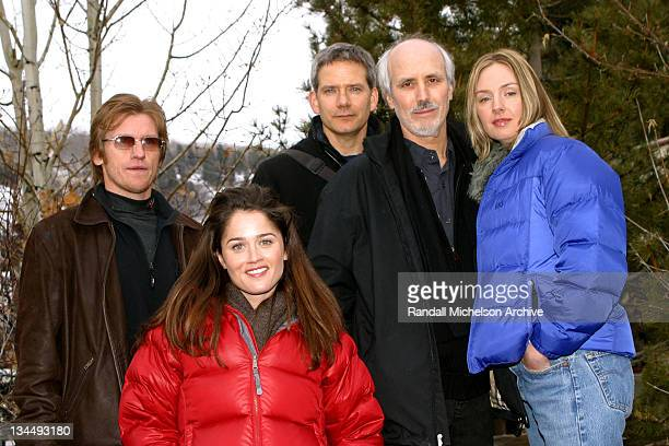 Denis Leary Robin Tunney Campbell Scott actor / producer Alan Rudolph director and Hope Davis