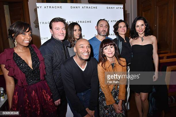 Denis Marechal Alexia Degremont Noemie Kocher Audrey Chauvau Dominic Bachy Linda Hardy and Anais Tellenne from Des Amours Desamours team and Dany...