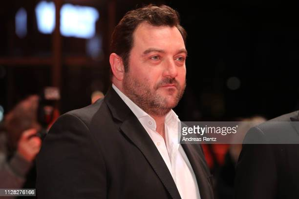 Denis Menochet attends the Grace A Dieu premiere during the 69th Berlinale International Film Festival Berlin at Berlinale Palace on February 08 2019...