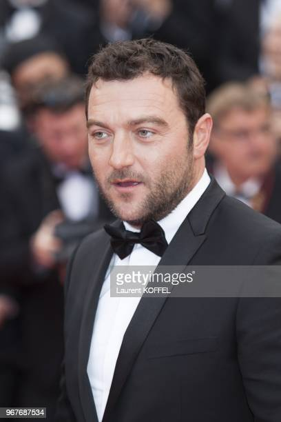 Denis Menochet attends the 'Inside Llewyn Davis' Premiere during the 66th Annual Cannes Film Festival at Grand Theatre Lumiere on May 19 2013 in...