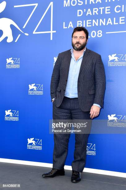 Denis Menochet attends the 'Jusqu'a La Garde' photocall during the 74th Venice Film Festival on September 8 2017 in Venice Italy