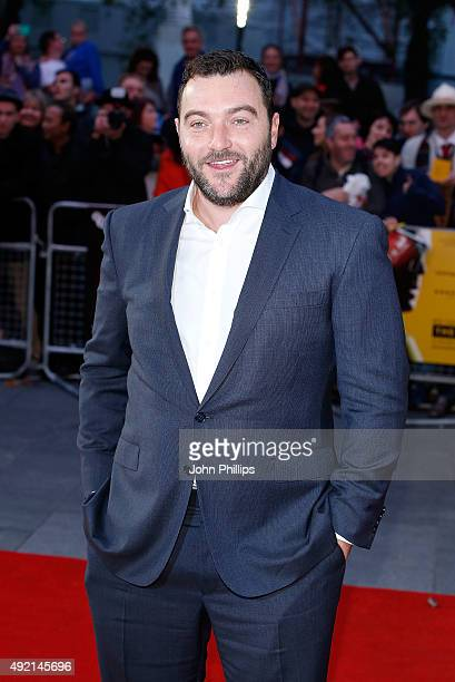 Denis Menochet attends the 'The Program' screening during the BFI London Film Festival at Vue Leicester Square on October 10 2015 in London England
