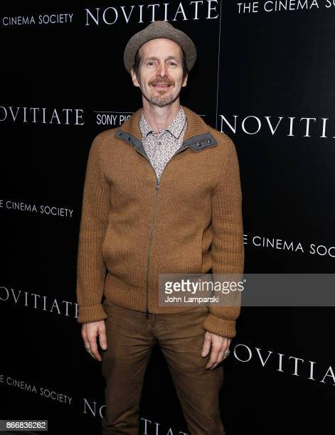Denis O'Hare attends Miu Miu The Cinema Society host a screening of Sony Pictures Classics' 'Novitiate' at The Landmark at 57 West on October 26 2017...