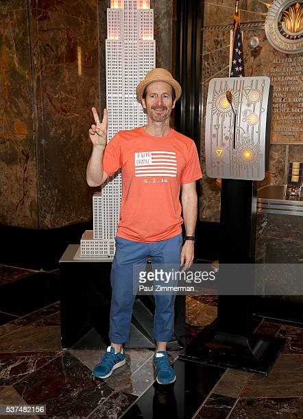 Denis O'Hare attends Spike Lee Lighting The Empire State Building In Recognition Of National Gun Violence Awareness Month at The Empire State...