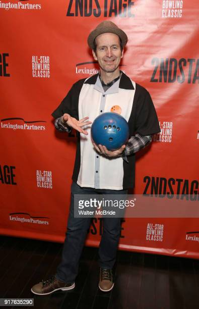 Denis O'Hare attends the Second Stage Theatre 2018 Bowling Classic at Lucky Strike on February 12 2018 in New York City
