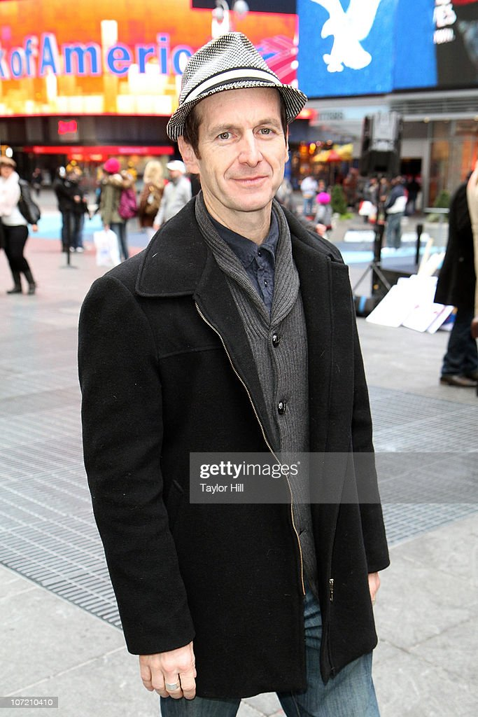 Denis O'Hare attends the Stand Up to Cancer Times Square News Year's Eve initiative launch at Duffy Square on November 30, 2010 in New York City.