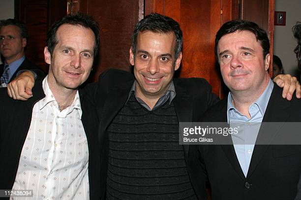Denis O'Hare Joe Mantello and Nathan Lane during New York Casting Society of America 21st Annual Artio's Awards at American Airlines Theater...