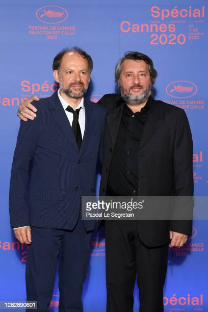 "Denis Podalydes and Bruno Podalydes attend the Best Short Film Palme D'Or Award Ceremony of the ""Special Cannes 2020 : Le Festival Revient Sur La..."