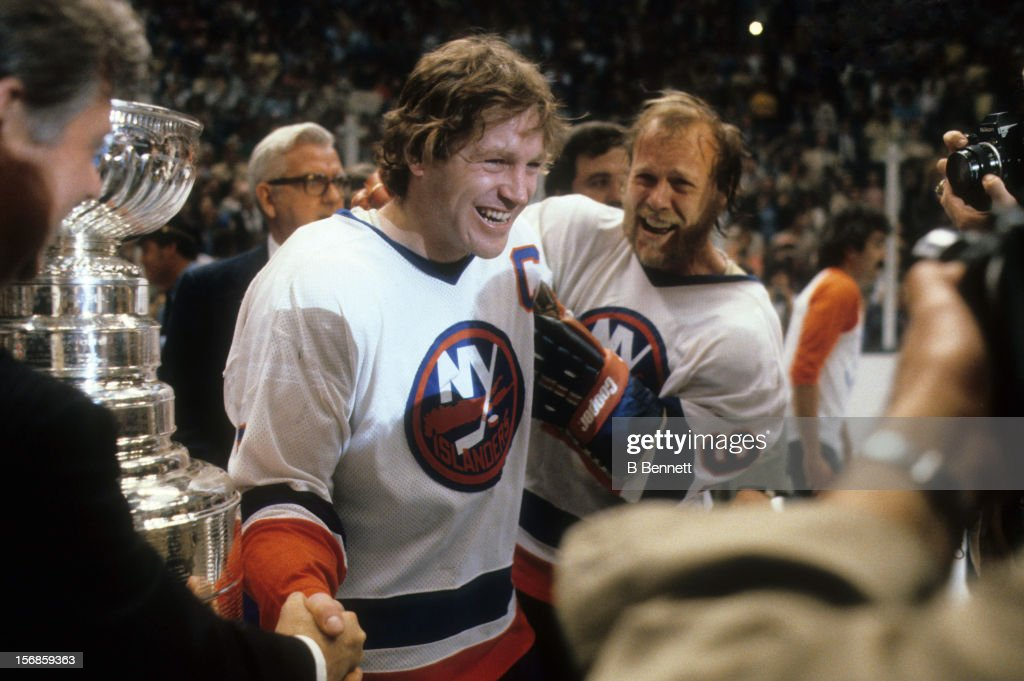 1981 Stanley Cup Finals - Game 5:  Minnesota North Stars v New York Islanders : News Photo