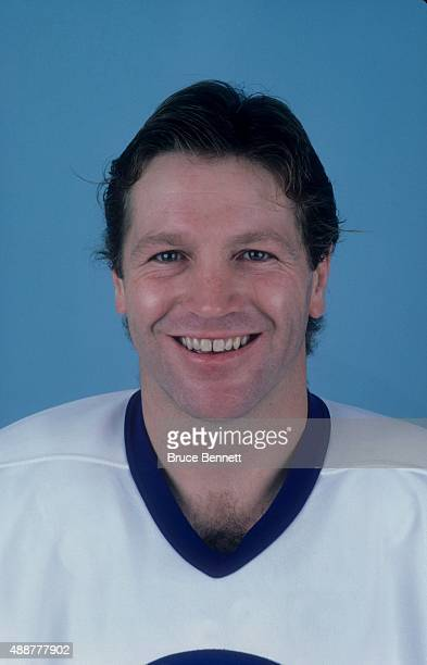 Denis Potvin of the New York Islanders poses for a portrait in October 1980 at the Nassau Coliseum in Uniondale New York