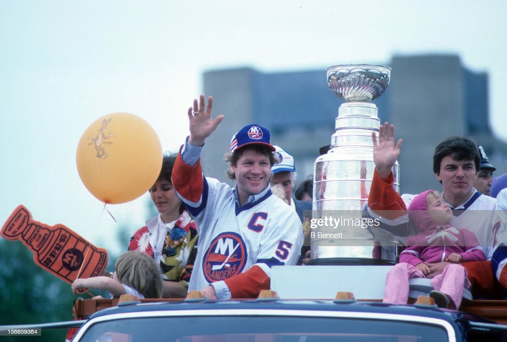 1983 Stanley Cup Parade : News Photo