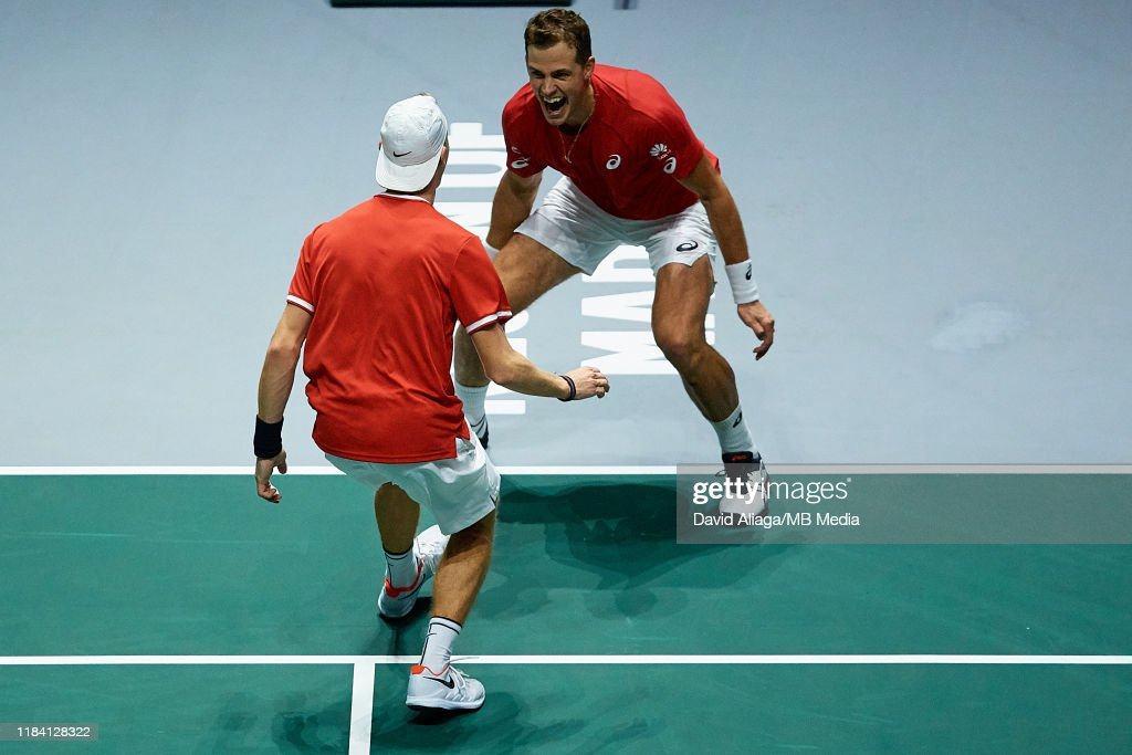 2019 Davis Cup - Day Six : News Photo