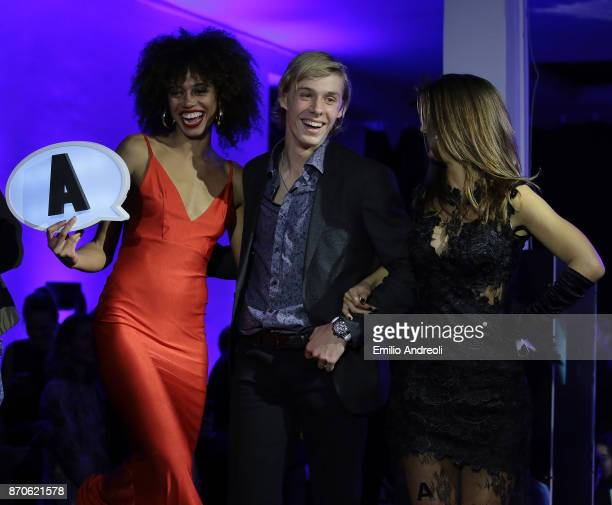 Denis Shapovalov of Canada attends the Next Gen ATP Final draw ceremony during the NextGen ATP Finals Launch Party on November 5 2017 in Milan Italy