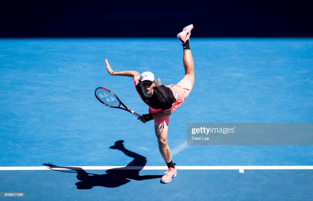 2018 Australian Open - Day 3 : News Photo