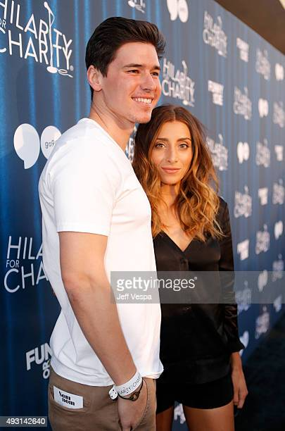 Denis Shepherd and Internet personality Lauren Elizabeth attend Hilarity for Charity's Annual Variety Show James Franco's Bar Mitzvah benefitting the...