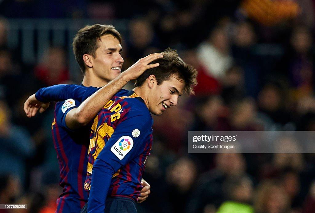 FC Barcelona v Cultural Leonesa - Copa del Rey - Fourth Round : ニュース写真