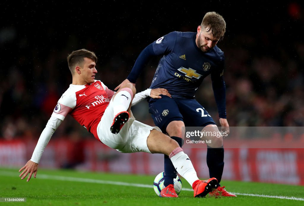 GBR: Arsenal FC v Manchester United - Premier League