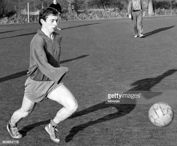 Denis Thwaites Birmingham City Football Player training session 8th January 1965