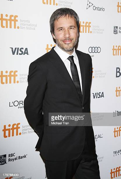 Denis Villeneuve arrives at the 'Prisoners' premiere during the 2013 Toronto International Film Festival held at The Elgin on September 6 2013 in...