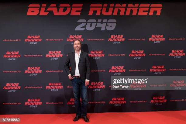 Denis Villeneuve attends 'Blade Runner 2049' photocall at Arts Hotel on June 19 2017 in Barcelona Spain