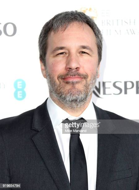 Denis Villeneuve attends the EE British Academy Film Awards nominees party at Kensington Palace on February 17 2018 in London England