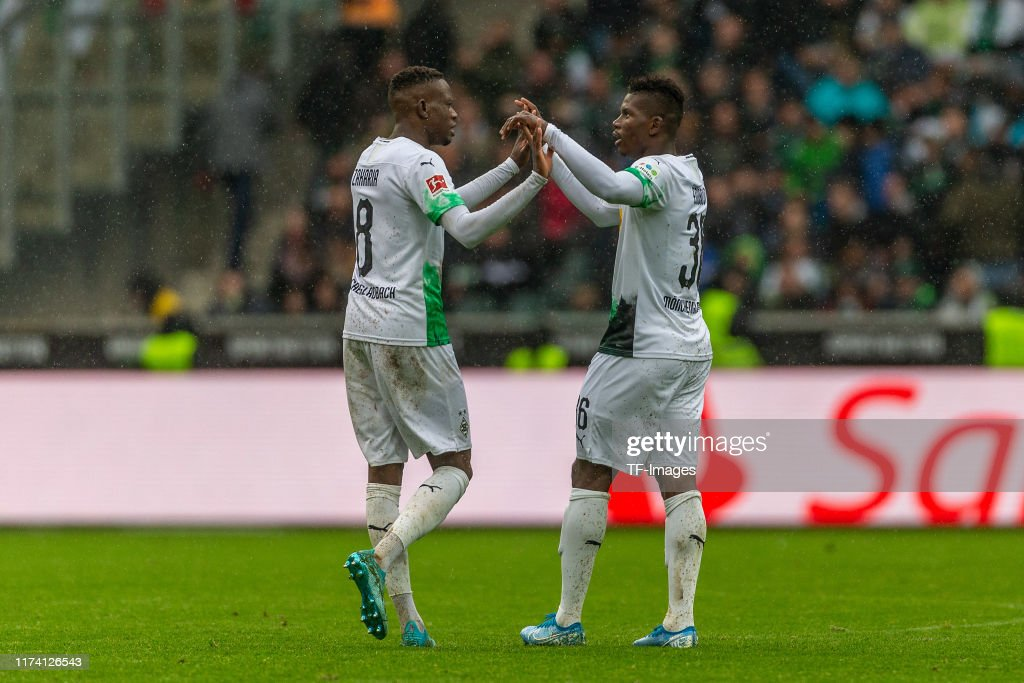Borussia Moenchengladbach v FC Augsburg - Bundesliga : News Photo