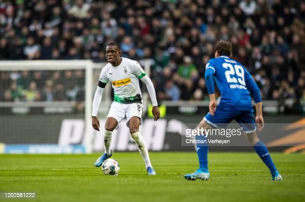 Denis Zakaria of Borussia Moenchengladbach in action during the Bundesliga match between Borussia Moenchengladbach and TSG 1899 Hoffenheim at...