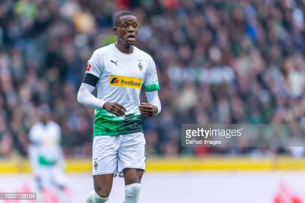 Denis Zakaria of Borussia Moenchengladbach looks on during the Bundesliga match between Borussia Moenchengladbach and TSG 1899 Hoffenheim at...