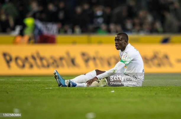 Denis Zakaria of Borussia Moenchengladbach react after the Bundesliga match between Borussia Moenchengladbach and TSG 1899 Hoffenheim at BorussiaPark...