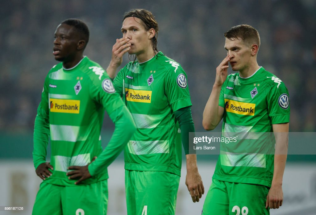 Borussia Moenchengladbach v Bayer Leverkusen - DFB Cup
